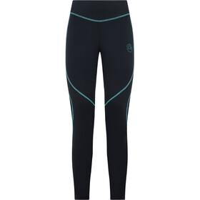 La Sportiva Instant Pantaloni Donna, nero/turchese